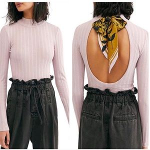 Free People Party in The Back Top Barely Lilac S